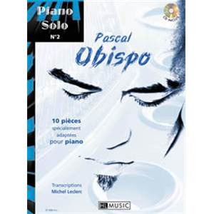 OBISPO PASCAL - PIANO SOLO VOL.2 + CD