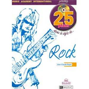 RAPIN JEAN CLAUDE - 25 PLANS DANS LE STYLE...ROCK + CD