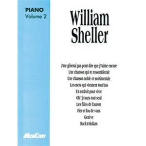 SHELLER WILLIAM - ALBUM PIANO VOL.2
