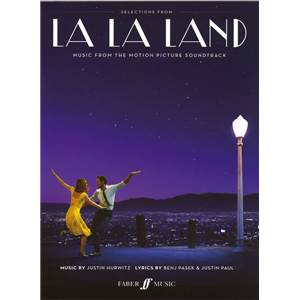 HURWITZ / PASEK / PUL - LA LA LAND MUSIC FROM THE MOTION PICTURE SOUNDTRACK P/V/G