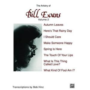 EVANS BILL - ARTISTRY OF (THE) VOL.2 PIANO SOLO