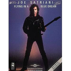 SATRIANI JOE - FLYING IN A BLUE DREAM GUITAR TAB.