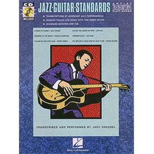 COMPILATION - JAZZ GUITAR STANDARDS ARTIST TRANSCRIPTIONS GUITAR TAB. + CD