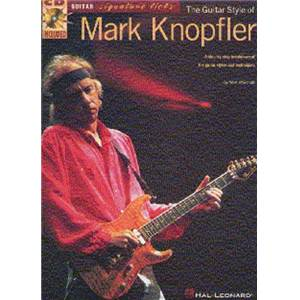 KNOPFLER MARK - GUITAR SIGNATURE LICKS + CD