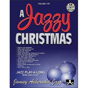 COMPILATION - AEBERSOLD 129 A JAZZY CHRISTMAS + CD