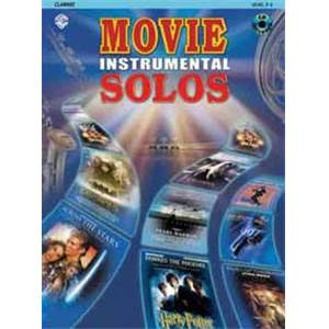 COMPILATION - MOVIE INSTRUMENTAL SOLO CLARINET + CD