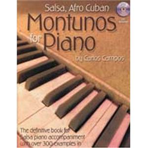 CAMPOS CARLOS - SALSA AND AFRO CUBAN MONTUNOS FOR PIANO + CD