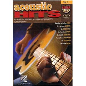 COMPILATION - GUITAR PLAY ALONG DVD VOL.3 ACOUSTIC HITS