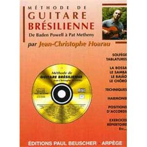 HOARAU JEAN CHRISTOPHE - METHODE DE GUITARE BRESILIENNE + CD