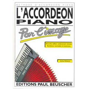 DELANCE J. - ACCORDEON PIANO PAR L'IMAGE