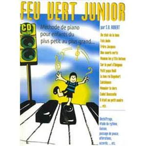 BURNET ROBERT SANDRINE - FEU VERT JUNIOR PIANO + CD