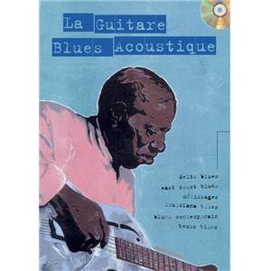 LELONG MICHEL - GUITARE BLUES ACOUSTIQUE METHODE GUITARE + CD