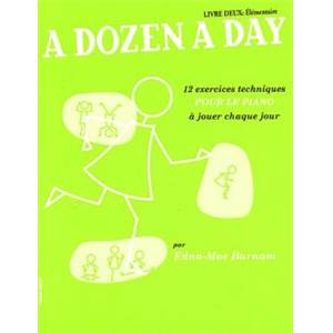 BURNAM EDNA MAE - A DOZEN A DAY VOL.2 VERSION FRANCAISE
