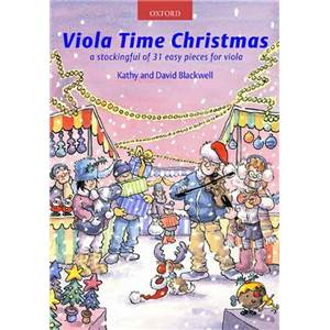 BLACKWELL KATHY ET DAVID - VIOLA TIME CHRISTMAS + CD
