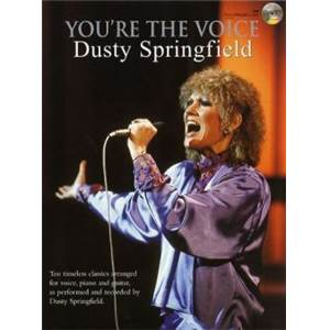 SPRINGFIELD DUSTY - YOU'RE THE VOICE + CD