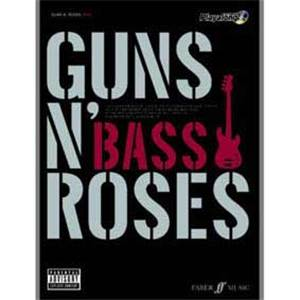 GUNS N' ROSES - AUTHENTIC BASS PLAY ALONG + CD