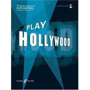 HARRIS RICHARD - PLAY HOLLYWOOD FLUTE + CD