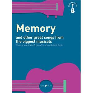 COMPILATION - EASY UKULELE LIBRARY MEMORY AND OTHER GREAT SONGS FROM THE BIGGEST MUSICALS