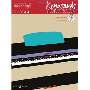 COMPILATION - ROCK & POP GRADED SONGBOOK KEYBOARD GRADE 2 3 + CD