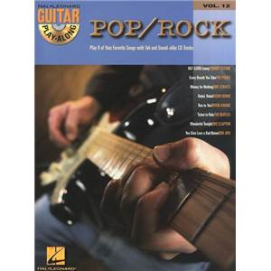 COMPILATION - GUITAR PLAY ALONG VOL.012 POP/ROCK + CD