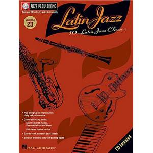 COMPILATION - JAZZ PLAY ALONG VOL.023 LATIN JAZZ + CD