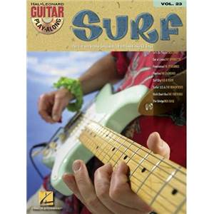 COMPILATION - GUITAR PLAY ALONG VOL.023 SURF GUITAR + CD