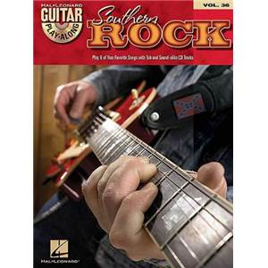 COMPILATION - GUITAR PLAY ALONG VOL.036 SOUTHERN ROCK + CD