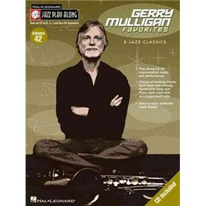 MULLIGAN GERRY - JAZZ PLAY ALONG VOL.042 FAVORITES + CD