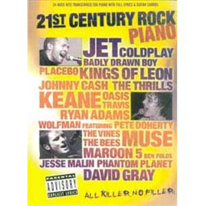 COMPILATION - 21ST CENTURY ROCK PIANO VOL.1 P/V/G