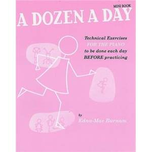 BURNAM EDNA MAE - A DOZEN A DAY MINI BOOK