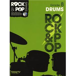 COMPILATION - TRINITY COLLEGE LONDON : ROCK & POP GRADE 8 FOR DRUMS + CD