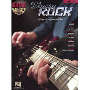 COMPILATION - GUITAR PLAY ALONG VOL.073 BLUESY ROCK + CD