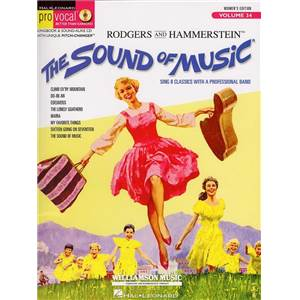 COMPILATION - PRO VOCAL FOR WOMEN SINGERS VOL.34 THE SOUND OF MUSIC + CD