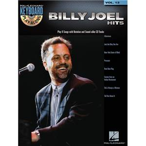 JOEL BILLY - KEYBOARD PLAY ALONG VOL.13 HITS + CD