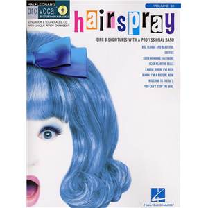 COMPILATION - PRO VOCAL FOR WOMEN SINGERS VOL.30 HAIRSPRAY + CD