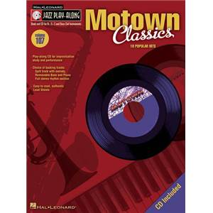 COMPILATION - JAZZ PLAY ALONG VOL.107 MOTOWN CLASSICS + CD