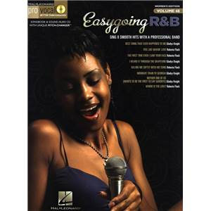 COMPILATION - PRO VOCAL FOR WOMEN SINGERS VOL.48: EASY GOING R&B + CD