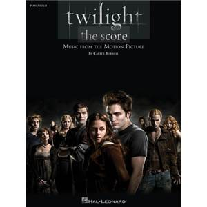 BURWELL CARTER - TWILIGHT THE SCORE MUSIC FROM THE MOTION PICTURE PIANO SOLO
