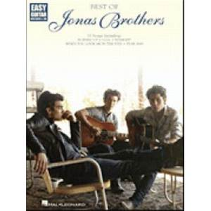 JONAS BROTHERS - BEST OF EASY GUITAR TAB.