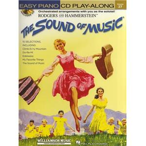 RODGERS / HAMMERSTEIN - EASY PIANO CD PLAY ALONG VOL.27 THE SOUND OF MUSIC + CD