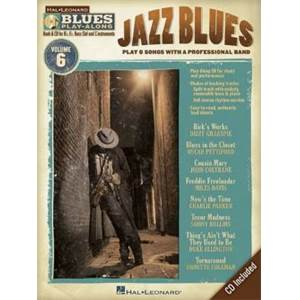 COMPILATION - BLUES PLAY ALONG VOL.6 : JAZZ BLUES + CD