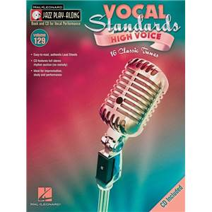 COMPILATION - JAZZ PLAY ALONG VOL.129 VOCAL STANDARDS (HIGH VOICES) + CD
