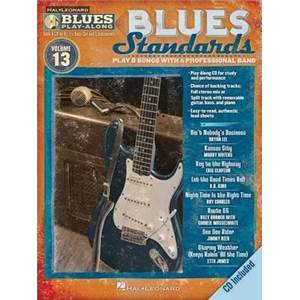 COMPILATION - BLUES PLAY ALONG VOL.13 : BLUES STANDARDS + CD