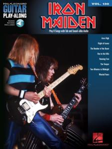 IRON MAIDEN - GUITAR PLAY-ALONG VOL.130 + ONLINE AUDIO ACCESS