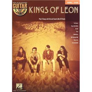 KINGS OF LEON - GUITAR PLAY ALONG VOL.142 + CD