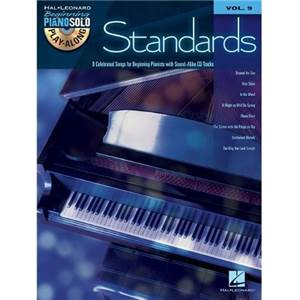 COMPILATION - BEGINNING PIANO SOLO PLAY ALONG VOL.009 STANDARDS + CD