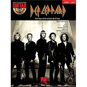 DEF LEPPARD - GUITAR PLAY ALONG VOL.145 + CD