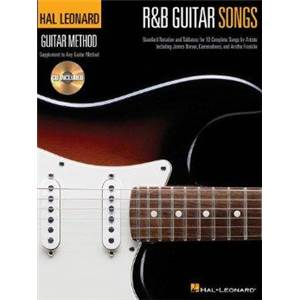 COMPILATION - HAL LEONARD GUITAR METHOD: R&B GUITAR SONGS + CD