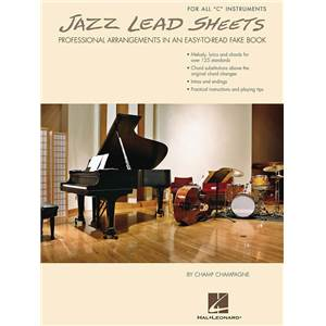 COMPILATION - JAZZ LEAD SHEETS PROFESSIONAL ARRANGEMENTS IN AN EASY TO READ FAKE BOOK