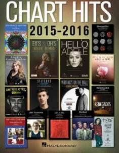COMPILATION - CHART HITS OF 2015-2016 SONGBOOK EASY PIANO